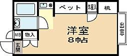 山川マンション[2階]の間取り
