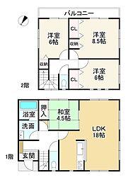 畠田駅 2,180万円