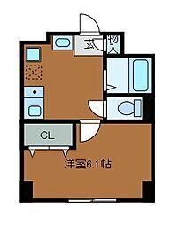 イルマーレK[3階]の間取り
