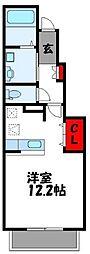 KEI HOUSEII[1階]の間取り