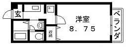 フラワーロード[102号室号室]の間取り