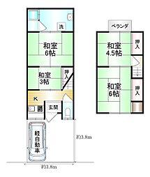 東海道・山陽本線 山科駅 バス10分 藤尾小金塚下車 徒歩13分