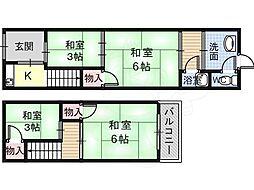 恵我ノ荘駅 4.5万円