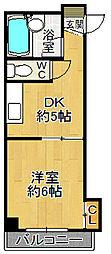 パークサイドU[3階]の間取り
