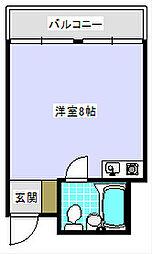 大阪府大阪市住之江区中加賀屋2丁目の賃貸マンションの間取り