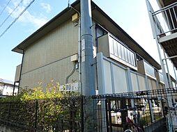 岡山県倉敷市白楽町の賃貸アパートの外観