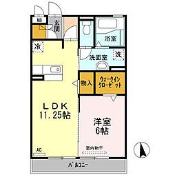 アネックス3号棟[2階]の間取り