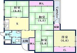 六甲駅 5.5万円