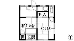 [テラスハウス] 兵庫県川西市東久代1丁目 の賃貸【/】の間取り