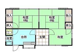 [一戸建] 神奈川県南足柄市狩野 の賃貸【/】の間取り