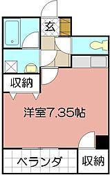 ピアーノ・KM21[303号室]の間取り