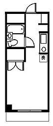 東京都八王子市滝山町2丁目の賃貸マンションの間取り