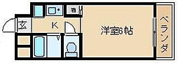 アビタシオンI[2階]の間取り