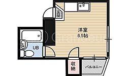 都島ギャラクシー[3階]の間取り