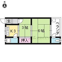 六地蔵駅 3.5万円
