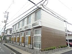 大阪府八尾市東山本新町2丁目の賃貸アパートの外観