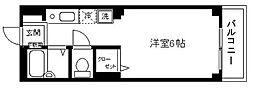 ディアコート横浜[303号室]の間取り