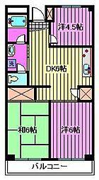 エリート浦和[3階]の間取り
