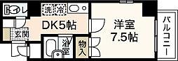 プロスペリテタケダ[7階]の間取り