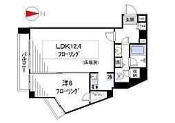 フィールE北新宿[207号室]の間取り