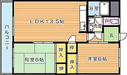 深田第一ビル[3階]の間取り
