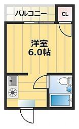エスポワール深江[5階]の間取り