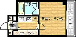 HF梅田レジデンスTOWER(タワー)[16階]の間取り