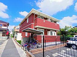 東京都東久留米市幸町4丁目の賃貸アパートの外観
