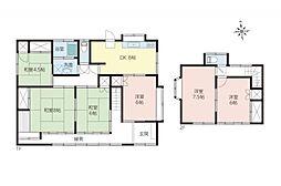 一戸建て(狭山ヶ丘駅から徒歩23分、120.88m²、2,880万円)