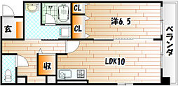 リアン熊本[3階]の間取り
