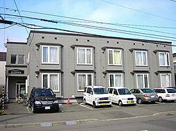北海道札幌市東区北三十五条東14丁目の賃貸アパートの外観