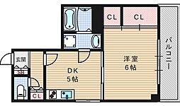 綿谷第2マンション[302号室]の間取り