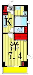 リヴェールタワー綾瀬[9階]の間取り