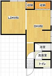 Sunyou Corpo[1階]の間取り