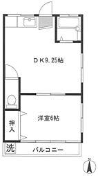 M&C天王台[2階]の間取り