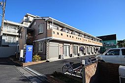 埼玉県越谷市大字南荻島の賃貸アパートの外観