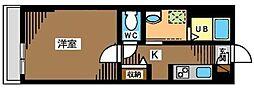 東京都葛飾区細田4丁目の賃貸マンションの間取り
