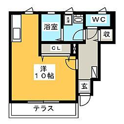 AZALEA[1階]の間取り