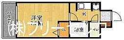 奈良屋グロリアス[7階]の間取り