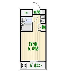 東京都葛飾区小菅3丁目の賃貸マンションの間取り