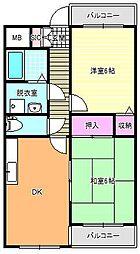 エターナル大昭和[2階]の間取り