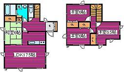 [一戸建] 北海道札幌市北区南あいの里4丁目 の賃貸【/】の間取り