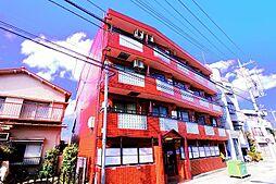 東京都清瀬市野塩4丁目の賃貸マンションの外観