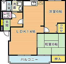 KAKUBLD(カクビル)[1階]の間取り