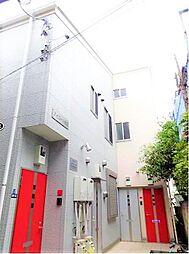 東京都北区神谷2丁目の賃貸アパートの外観