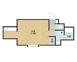 ランドマーク文京台B棟[1階]の間取り