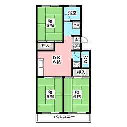 第1小館ビル[3階]の間取り