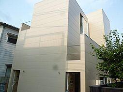 東京都北区滝野川1丁目の賃貸アパートの外観