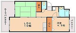 山義第2ビル[2階]の間取り