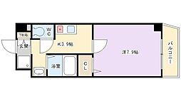 M PLAZA香里五番館[2階]の間取り